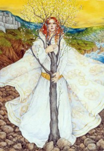 Happy Imbolc ~ In the Belly of Mother Earth